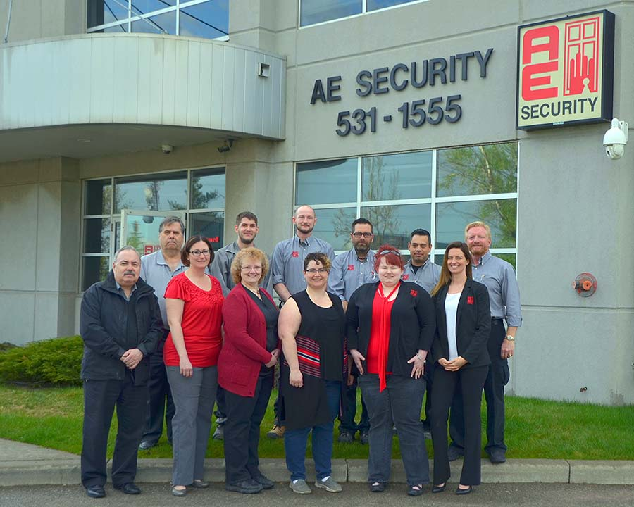 AE Security staff